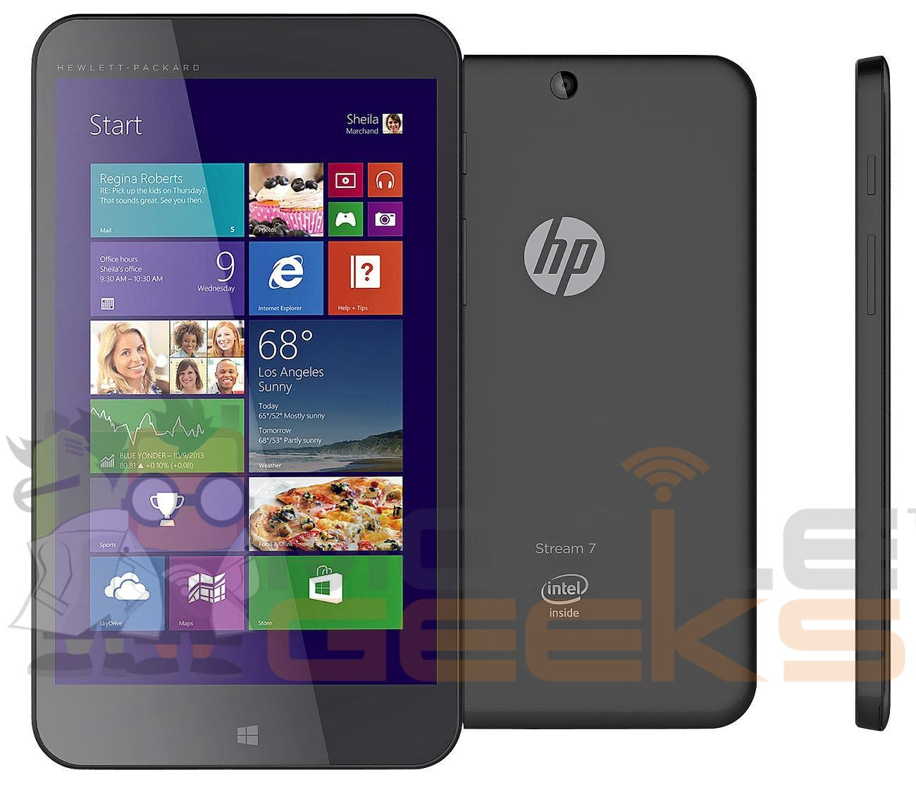 HP Stream 7 geleakt – Das erste Windows-8.1-Tablet mit 7-inch Display!
