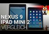 Nexus 9 & iPad mini 2 Vergleich [deutsch]