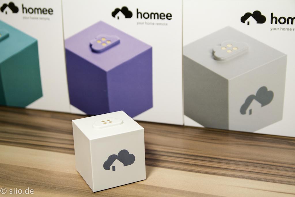 Homee Brain Cube - unboxed