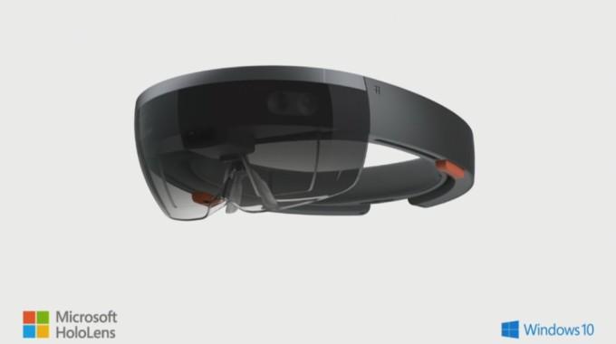 Microsoft HoloLens Brille von vorn
