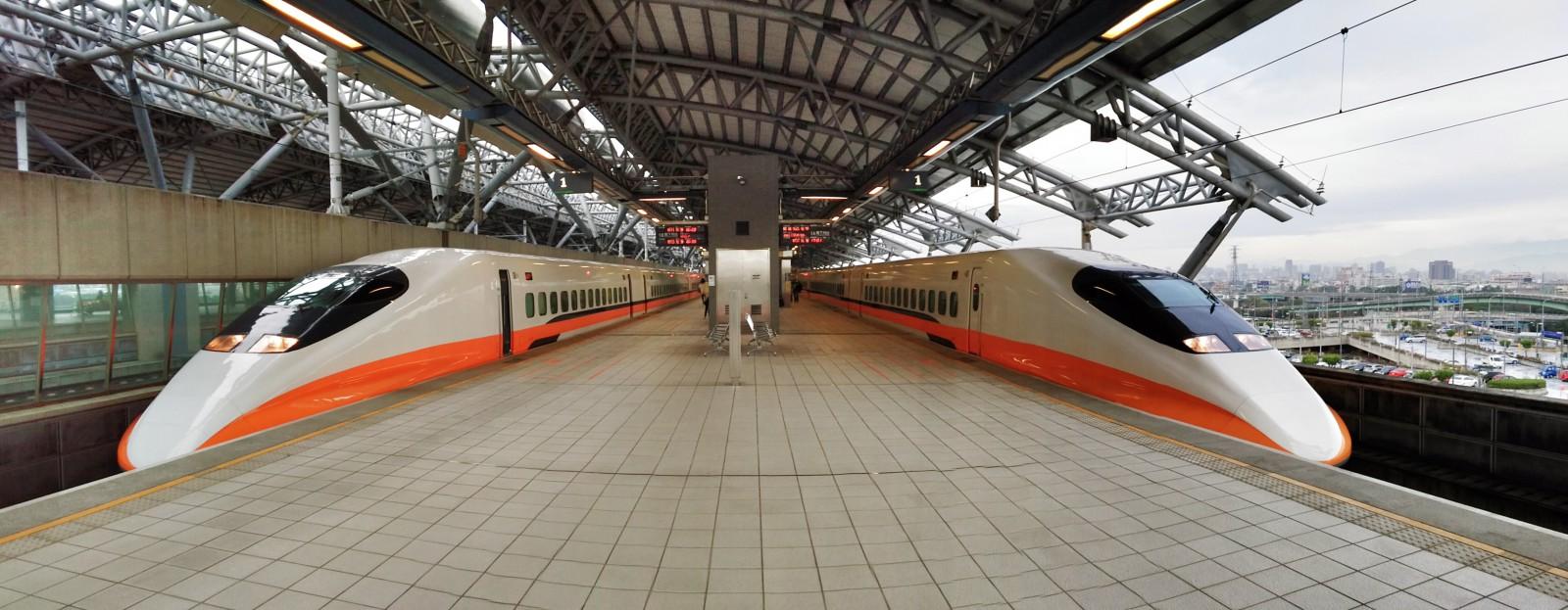Autopanorama von der Taiwan Highspeed Rail, nachbearbeitet mit Snapseed