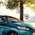 Ford mit Carsharing Schriftzug
