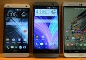 HTC One M9 im direkten Vergleich mit dem One M8 und One M7