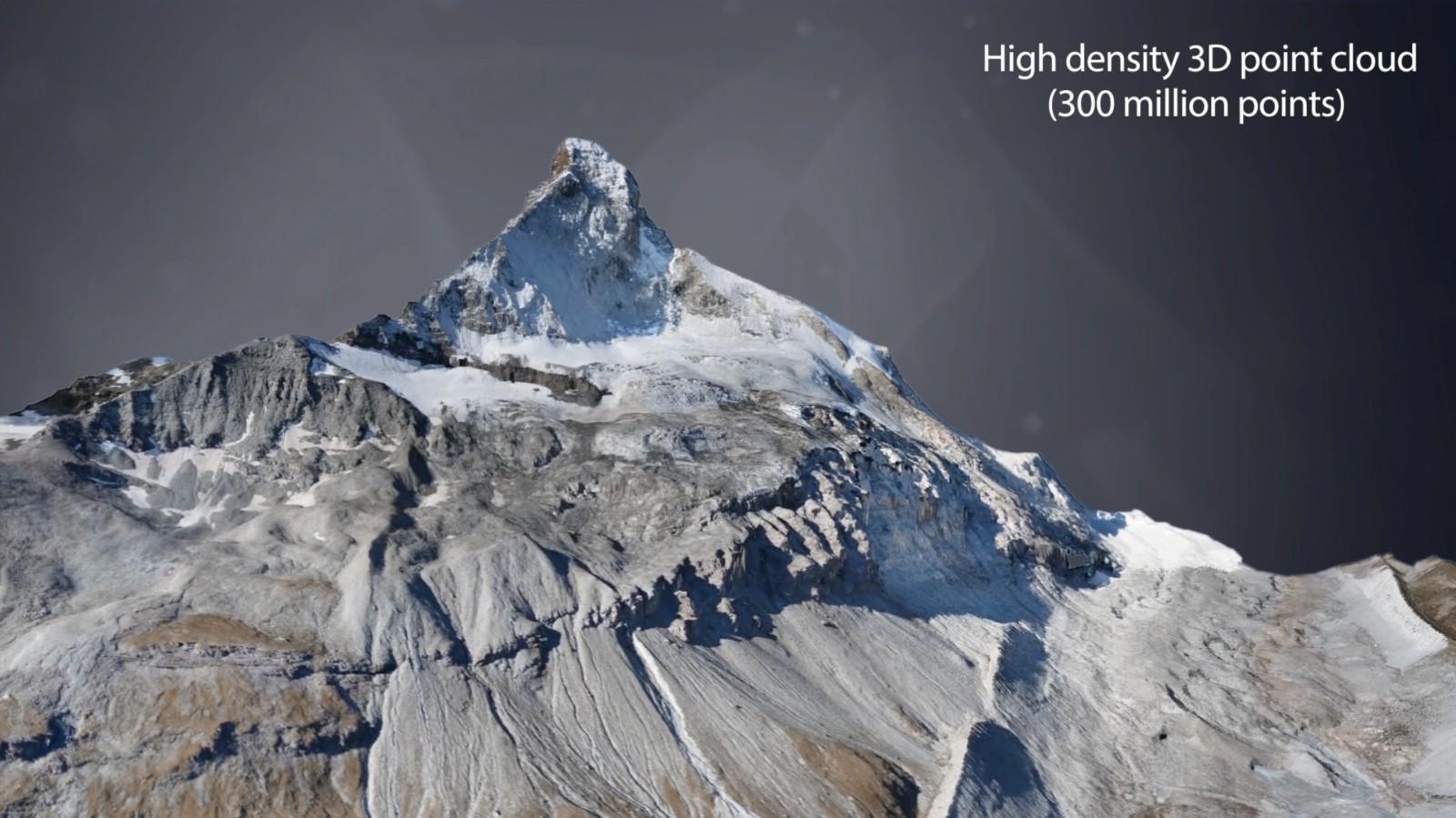 High density 3D point cloud