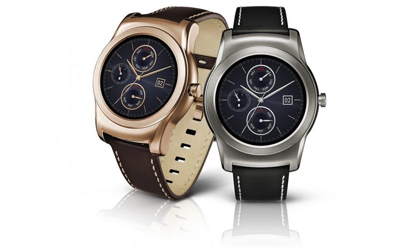 LG Watch Urbane in Gold und Silber