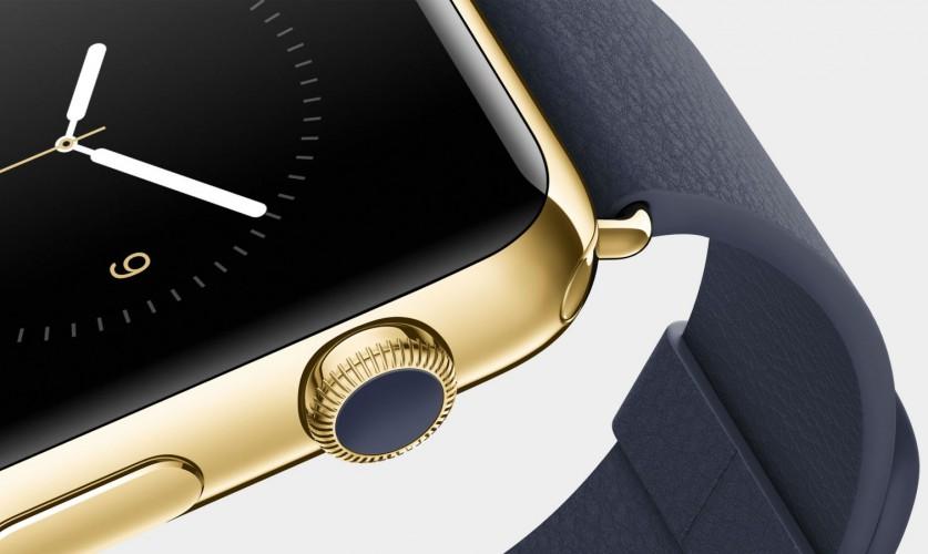 Apple Watch Edition - Blick auf die Crown