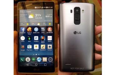 LG-G4 - Vorder- und Rückseite