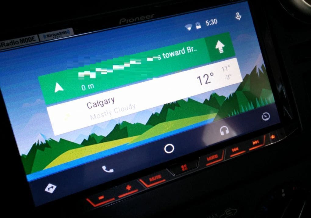 Android Auto - Google Now