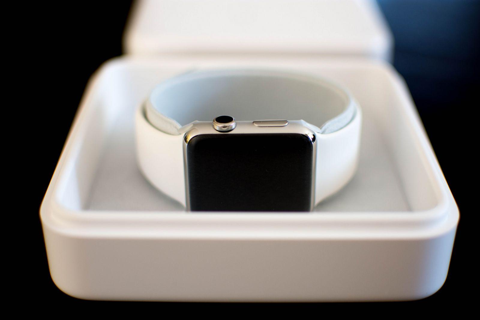 Apple Watch Uhr der Box