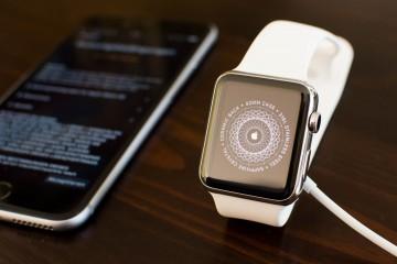 Apple Watch Startscreen