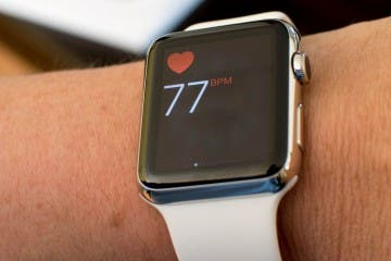 Apple Watch Puls-Anzeige