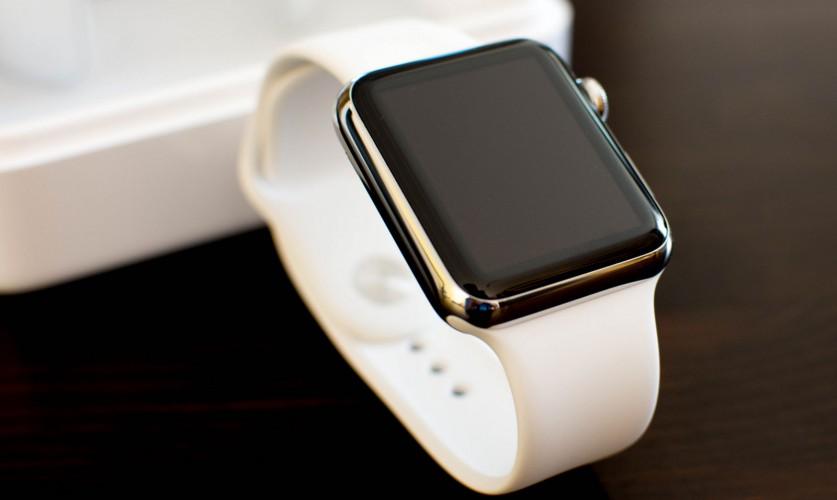 Apple Watch vor der Box