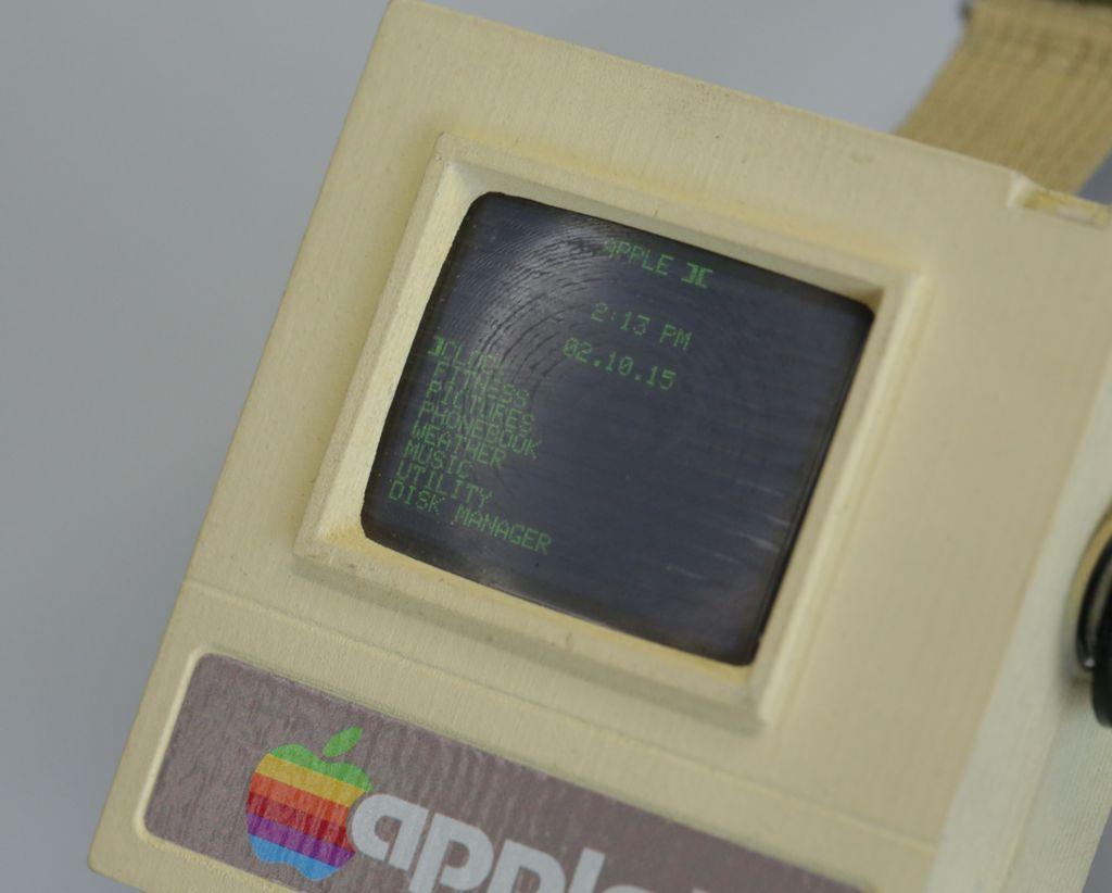 Bildschirm der Apple Watch 2