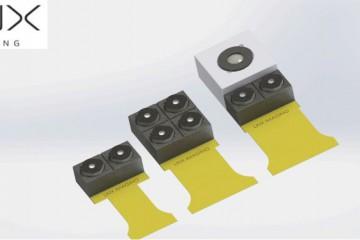 Verschiedene Kameramodule von Linx nebeneinander