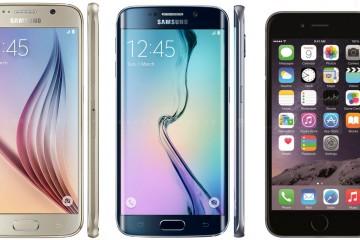 S6 vs S6 Edge vs iPhone-6