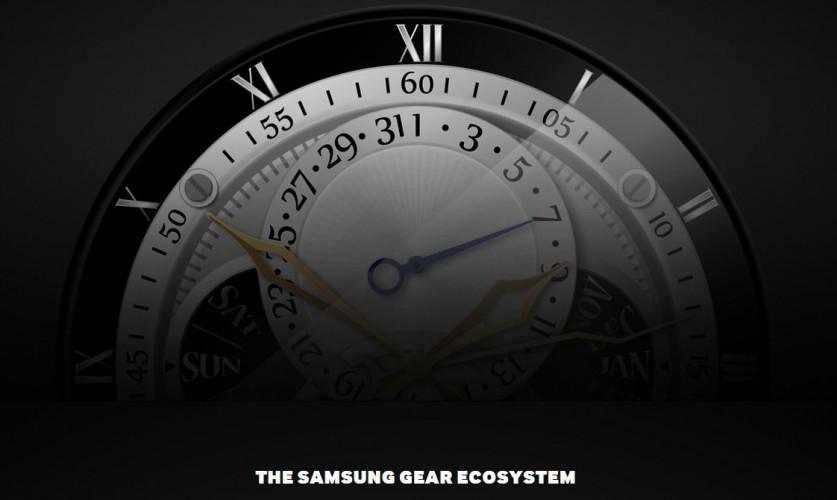 Teaser Bild zur Samsung Gear A mit rundem Display