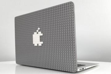 Apple MacBook mit Brik Case