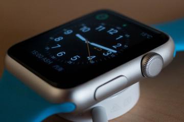Apple Watch blaues Armband Watchface