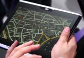 Audi Tablet mit Gestensteuerung im Hands On