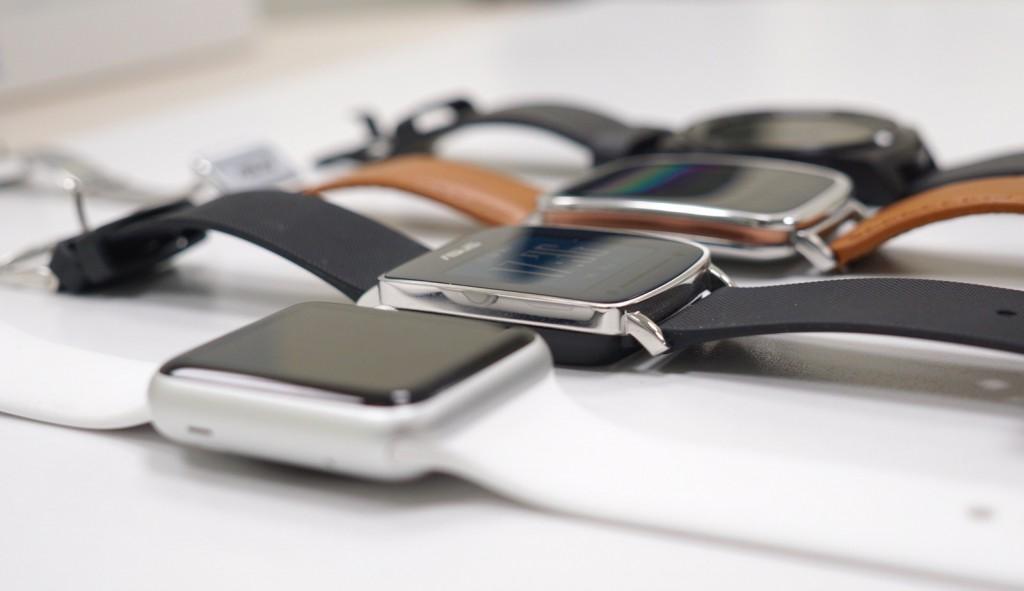 VivoWatch Apple Watch Zenwatch G Watch R seitliche Ansicht