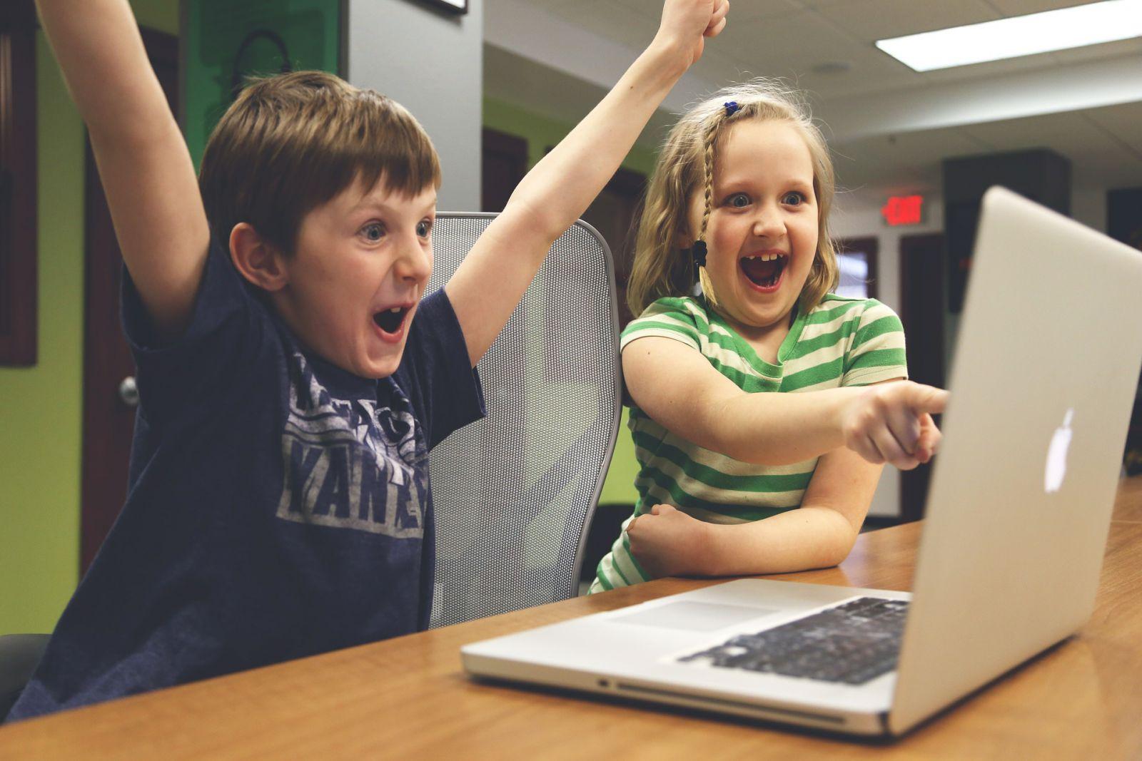 Spielen ist für Kinder im Internet die Hauptbeschäftigung