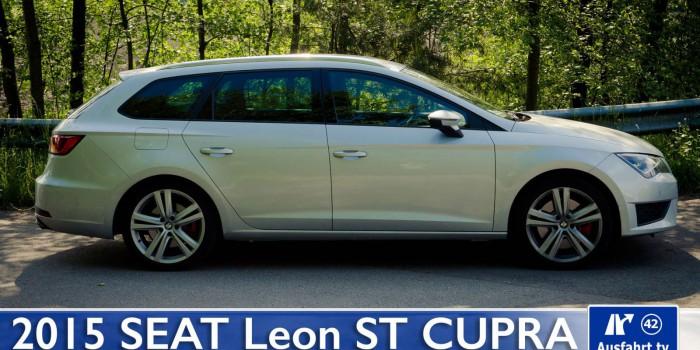2015 SEAT Leon ST Cupra – Fahrbericht der Probefahrt, Test, Review