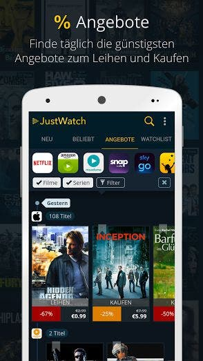 JustWatch Screenshot