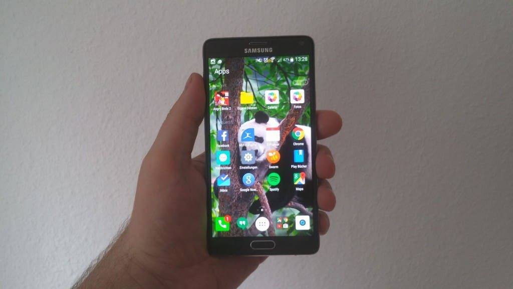 Microsoft Arrow Launcher auf dem Galaxy Note 4