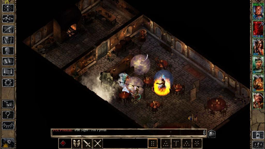 Screenshot: Baldurs Gate 2