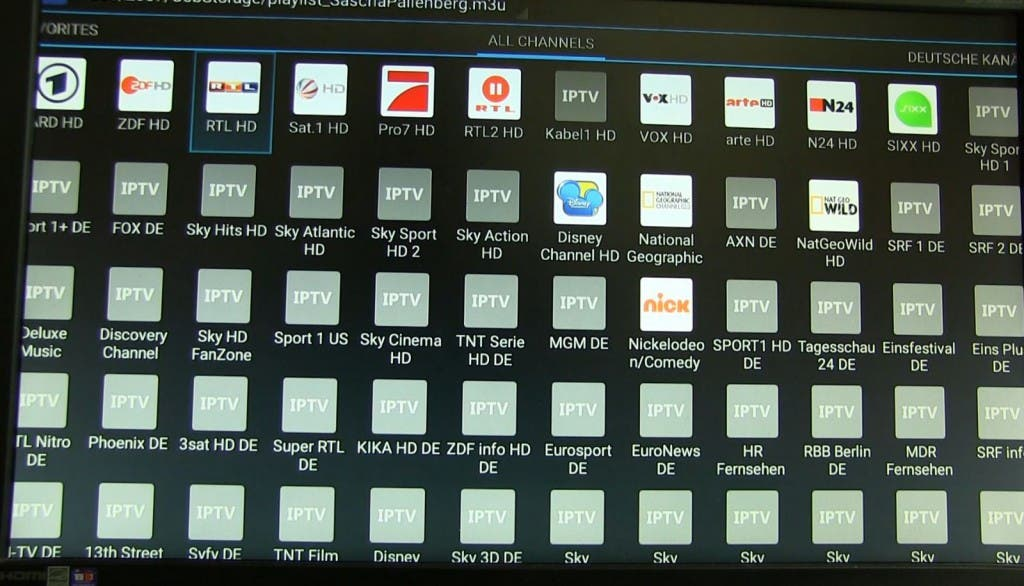 Use IPTV with Android