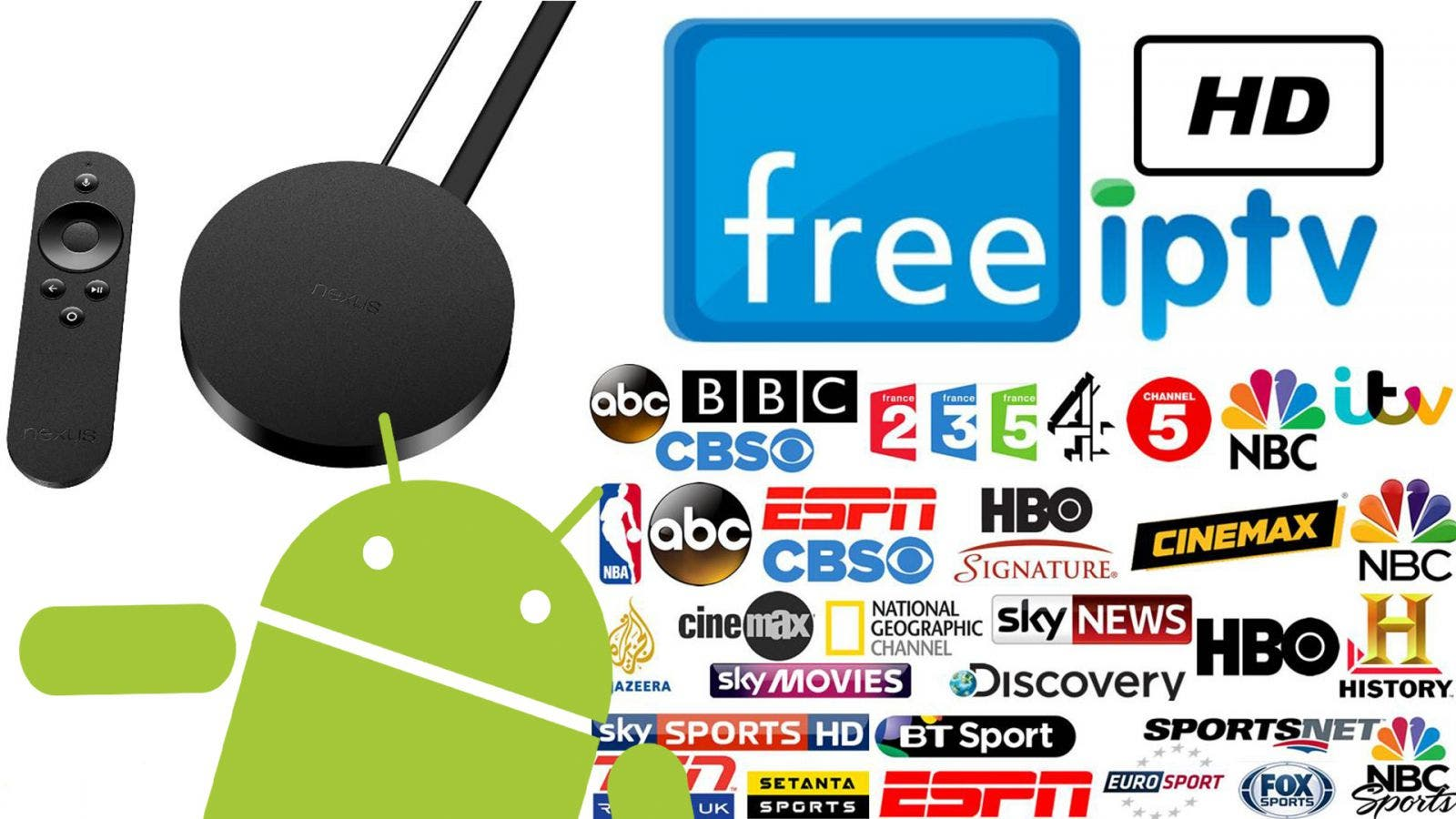 Mit IPTV & Android TV über 400 Sender mit EPG empfangen