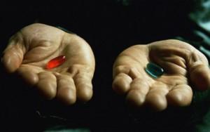 Matrix Red Pill Blue Pill