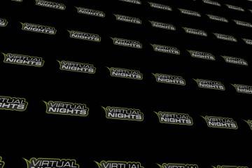 Virtual Nights - Logo Hintergrund