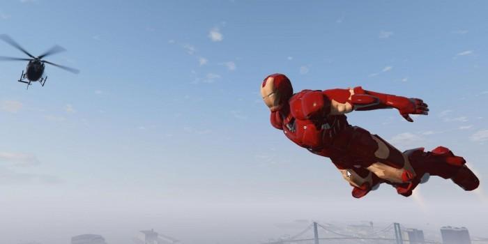 GTA V: Großartiger Iron Man Mod