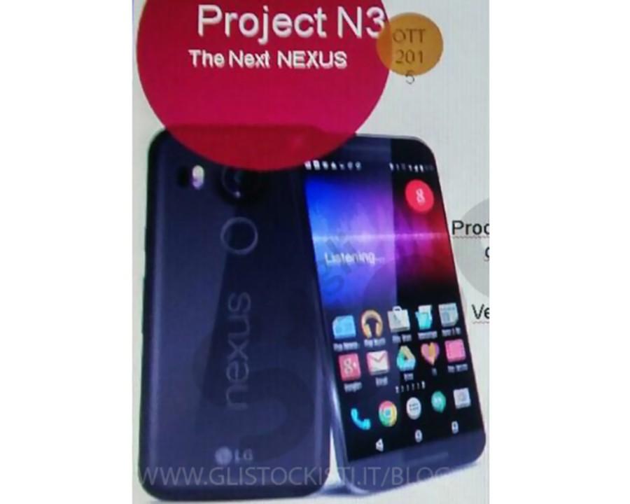LG Nexus 5x Prospekt