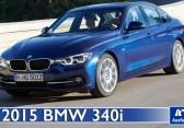 2015 BMW 340i (F30 LCI) – Video – Fahrbericht, Test, erste Probefahrt