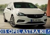 2015 Opel Astra K Sport 1.6T MT-6 – Video – Fahrbericht, Test, erste Probefahrt