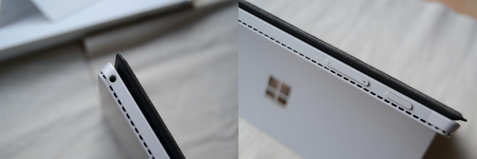 Surface Pro 4 - Lautstärketaste veränderte Position