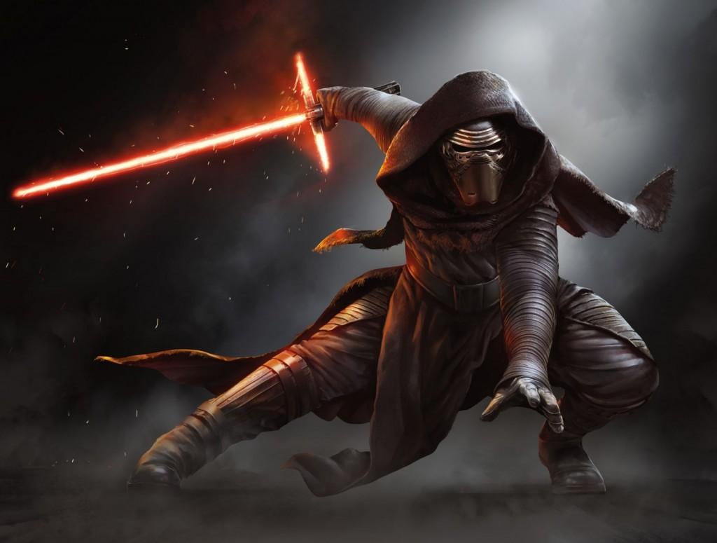 Star Wars Episode 7 Kylo Ren Fullscreen