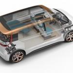 Volkswagen BUDD-e Sicherheitszelle