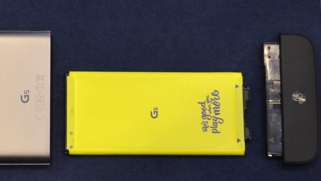 LG G5 Battery Magic Slot