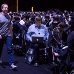 Samsung MWC 2016 Zuckerberg Auftritt