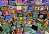 Simpsons Overkill: 500 Folgen auf 500 Monitoren gleichzeitig sehen