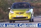 2016 smart fortwo cabriolet (453) – Video – Fahrbericht, Test, erste Probefahrt