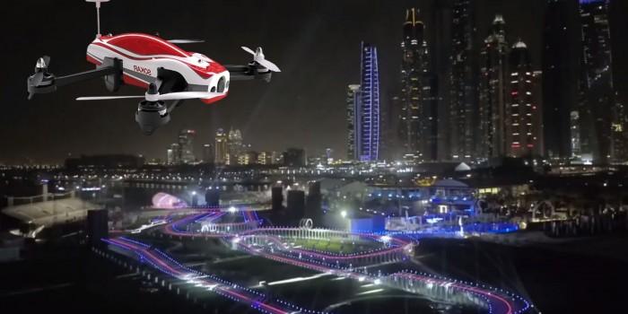 Dubai Drone Prix 2016 – Atemberaubende Strecke fuer die Finals