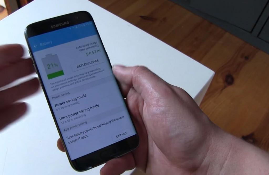 Samsung Galaxy S7 edge Akku
