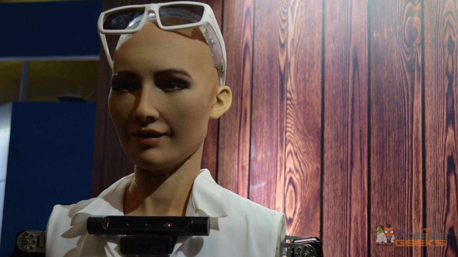 Hanson Robotics Sophia 02