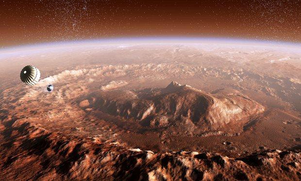 Mars oberfläche