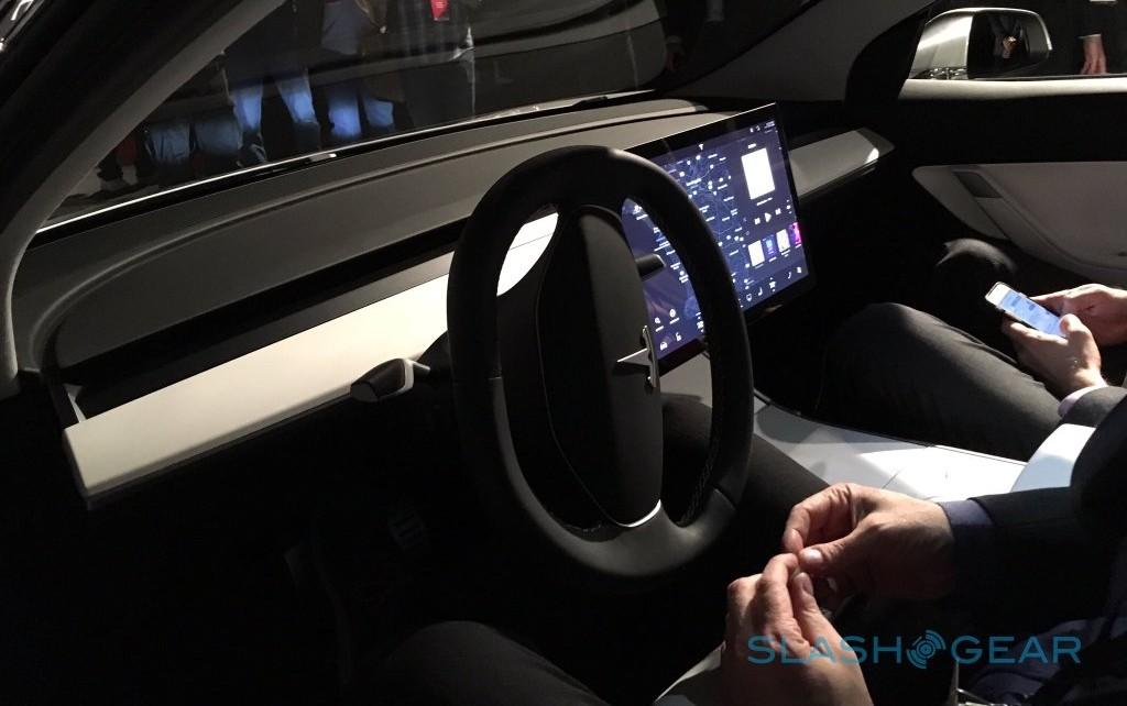 Tesla 3 Dashboard