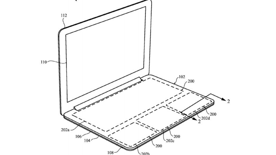 apple virtuelle tastatur oberfläche